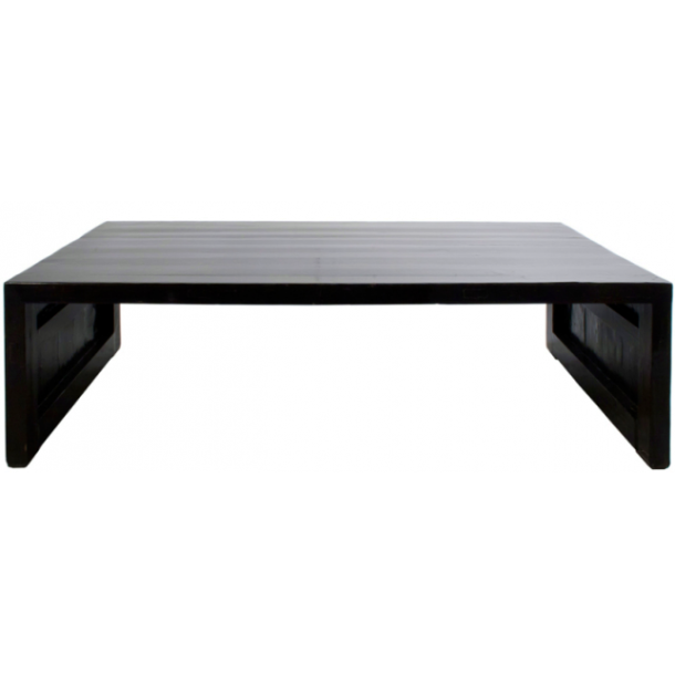 Coffee Table In Glossy Black T A B L E S SwanfieldLiving ApS - Glossy black coffee table