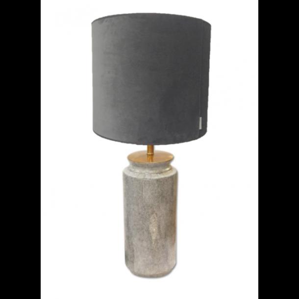 Shagreen porcelænslampe