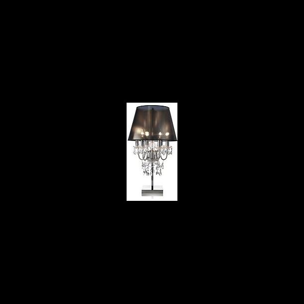 Bordlampe med prismer