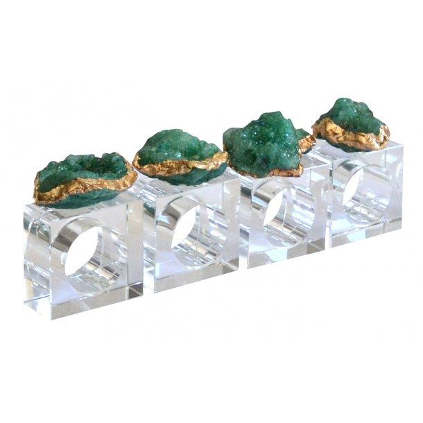 Krystal servietringe