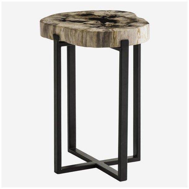 Petrified Wood Side Table T A B L E S Swanfieldliving Aps