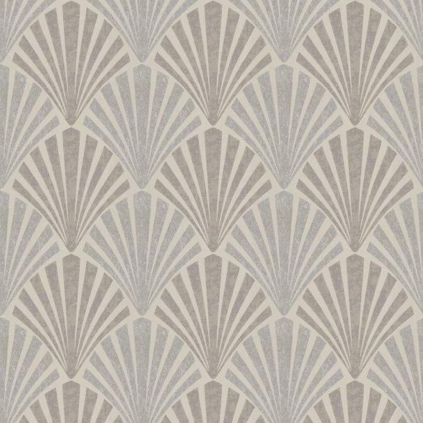 Art Deco mønstret tapet